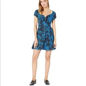 NWT Free People A Thing Called Love Mini Dress 0